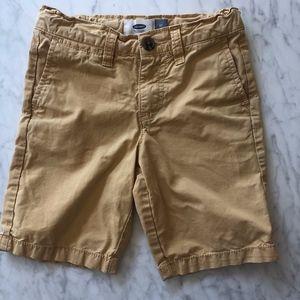 Old Navy Mustard Yellow Shorts - 5T